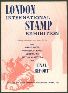 1950 - International Stamp Exhibition London